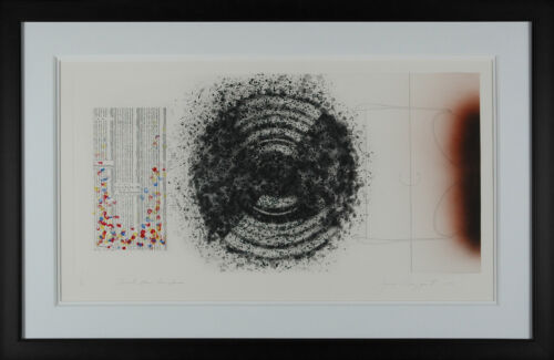 James Rosenquist - Towel, Star and Sunglasses, hand-signed etching, Framed