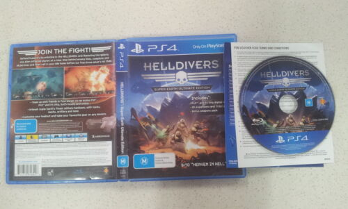 Helldivers SuperEarth Ultimate Edition SonyPS4 Game
