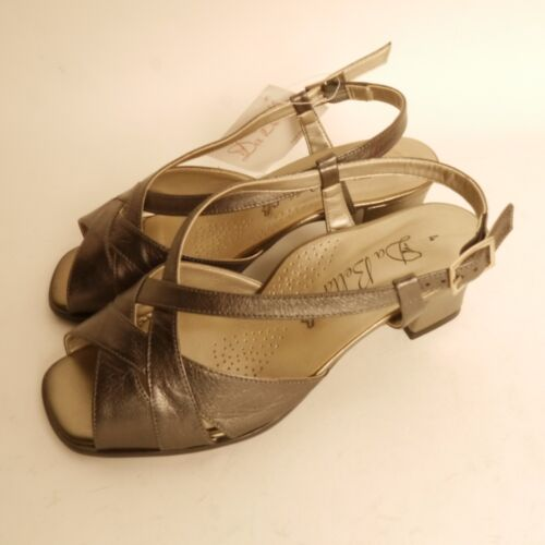 Dbshoes Da Bella Pewter Sandals Extra Extra Wide Fit EEEE New £40