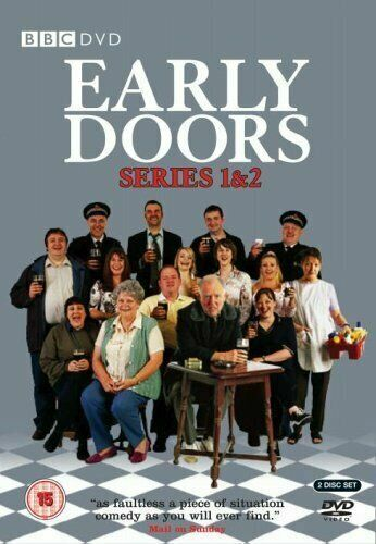 Early Doors Season 1+2 TV Series (BBC) 2xDVDs R4