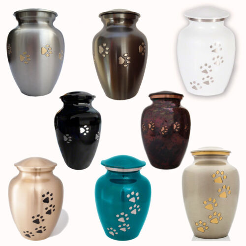 Ottillie Paws Series Pet Urns from Best Friend Services, for pets up to 175 lbs