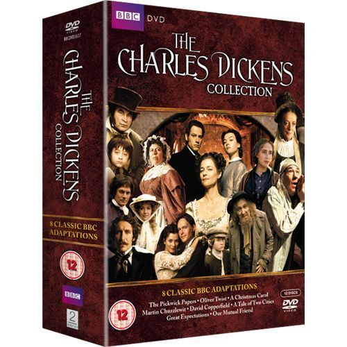 Charles Dickens Collection 8 Classic BBC Adaptations Box Set Region 4 8xDVD