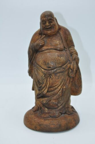 Antique Chinese Carved Bamboo Statue