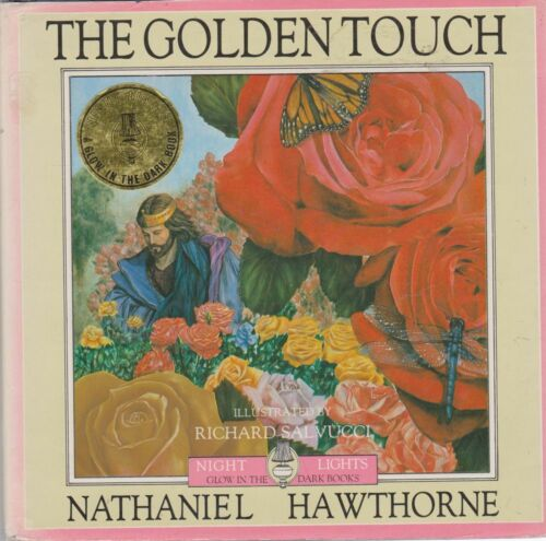 NATHANIEL HAWTHORNE The Golden Touch [Night Lights Glow in the Dark Books] 1987