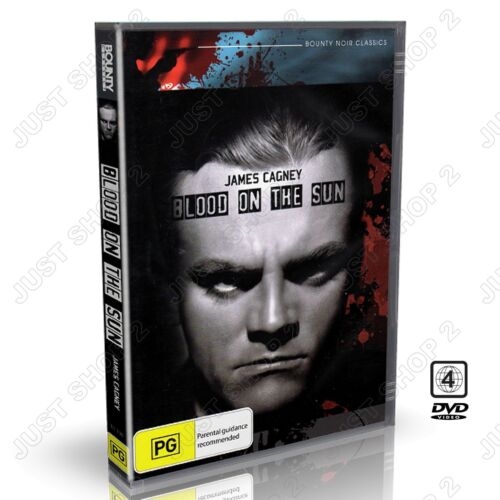 Blood On The Sun (1945) : James Cagney : Color : New DVD