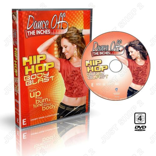 Dance Off The Inches  Exercise DVD : Hip Hop Body Blast Cardio Workout : New