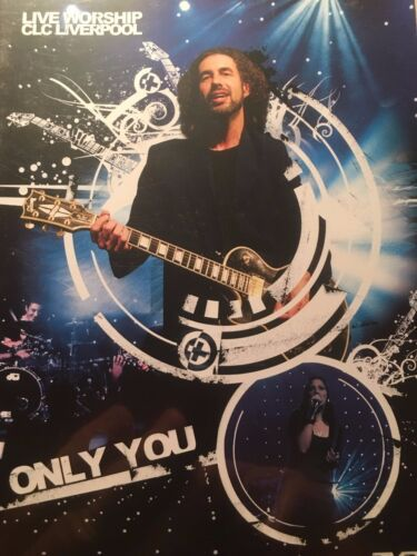 Only You Live Worship CLC Liverpool Region 4 DVD Excellent Condition