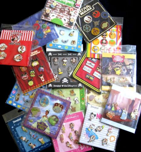Disney TRADING PINS! 25 Pin Lot - Brand New Booster Sets <br/> Buy Authentic! - Perfect Trader Pins - Unopened Sets