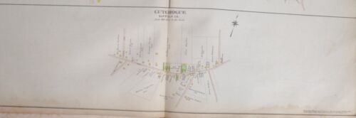 ORIGINAL 1909 E. BELCHER HYDE CUTCHOGUE LONG ISLAND NY ATLAS MAP PLAT