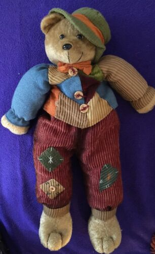 """COUNTRY/COTTAGE COLLECTIBLE RAG DOLL SCARE CROW CLOTH 19"""""""