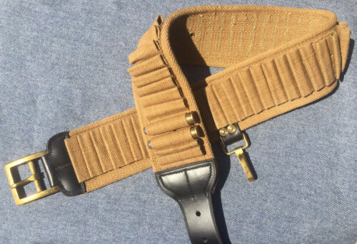 Model 1885 Cavalry Cartridge belt - 55 Loops for .45-70 SpringfieldReproductions - 156384