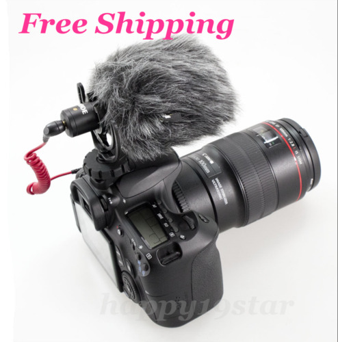 NEW Rode VideoMicro Rycote Lyre Shock Mount On Camera Recording Microphone US