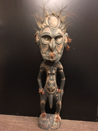 SPIRIT FIGURE MIDDLE SEPIK  PAPUA NEW GUINEA