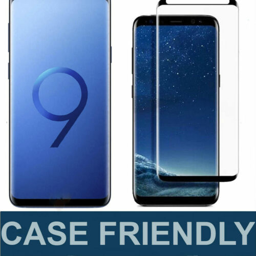 Case Friendly Tempered Glass Screen Protector For Samsung Galaxy S9 S8 / S8 Plus
