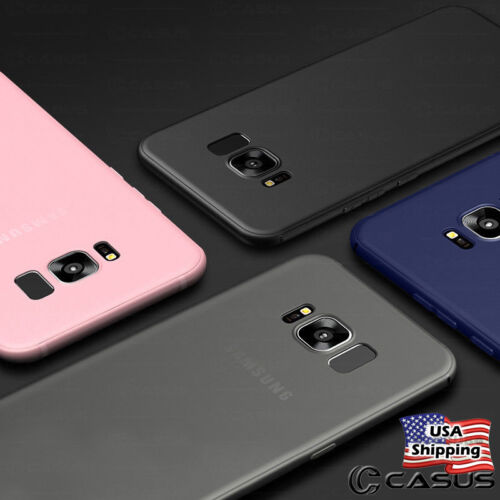 THINNEST For Samsung Galaxy S9/S8+ Plus Note 9/8 Ultra Slim Thin TPU Case Cover