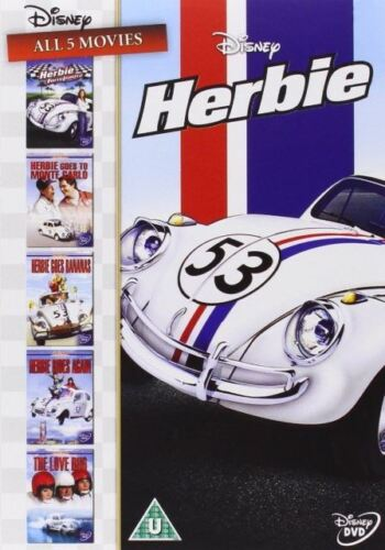 Herbie The Complete 5 Film Collection Box Set 1+2+3+4+5 New 5xDVD R4