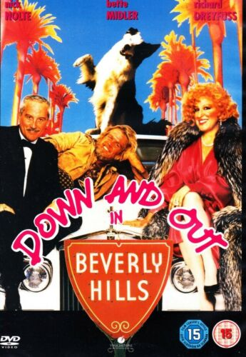 Down And Out In Beverly Hills (Nick Nolte Bette Midler) Region 4 New DVD