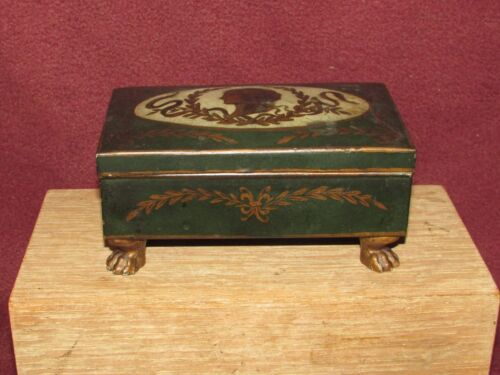 Old or Antique French Toleware Box