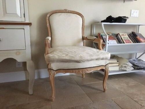 French Farm House Country Vintage Armchair Chair High End