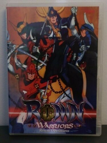 "Ronin Warriors - Vol 2: ""Rescue Operations"" - Anime DVD"