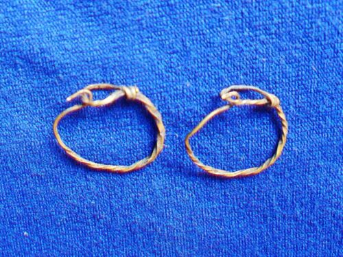 Ancient Roman GOLD Earrings