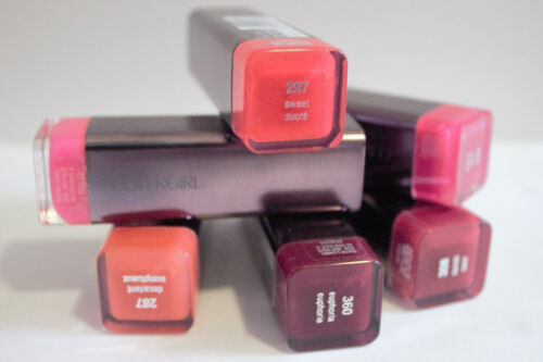 BUY1, GET1 @ 30% OFF COVERGIRL LIP PERFECTION COLORLICIOUS RICH LIPSTICK *Sealed