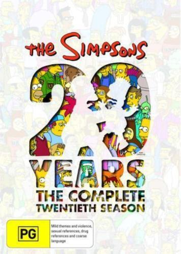 The Simpsons Series Complete Twentieth Season 20 New Oz DVD Set Region 4 R4
