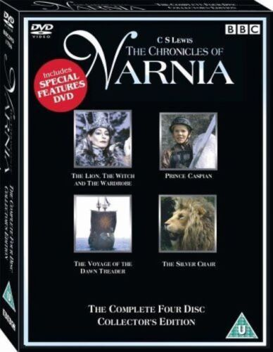 The Chronicles of Narnia  4 Movies Complete Collection  New DVD Reg 4