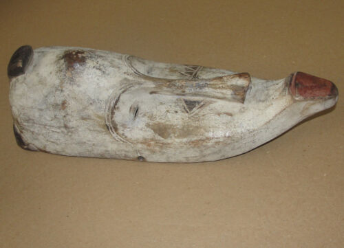 GREAT FANG NGIL GOBON AFRICA OLD MASK BIG ART MASK STATUE AFRICAN TRIBAL MASQUE