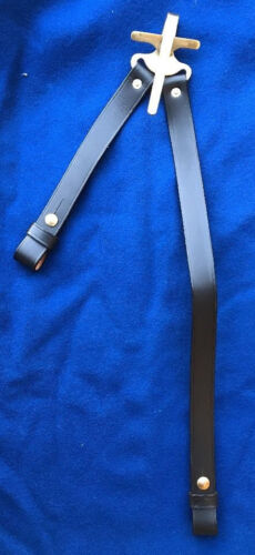 J.E.B. Stuart 1859 Patent Saber Hanger for Cavalry with Leather StrapsBelts & Belt Buckles - 103998