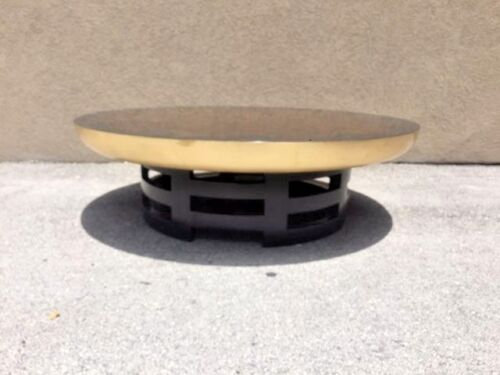 THEODORE MULLER AND ISABEL BARRINGER KITTINGER LOTUS COFFEE TABLE