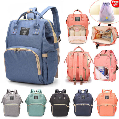 Luxury Multifunctional Baby Diaper Nappy Backpack Waterproof Mummy Changing Bag <br/> √5000+ SOLD  √ High Quality  √Free Shipping √AU STOCK