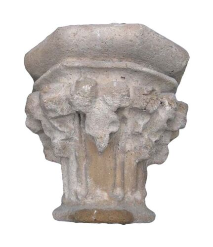 Reclaimed Stone Capitals from Addison Mizner's La Ronda