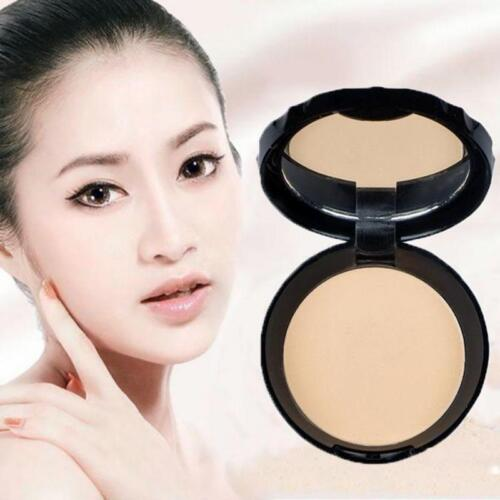 Women Smooth Face Powder Concealer Whitening Oil Control Dry Pressed Powder