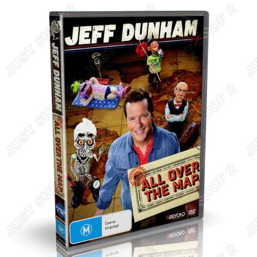 Jeff Dunham DVD : All Over The Map : Comedian : Brand New