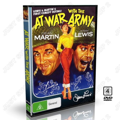 Jerry Lewis & Dean Martin in, At War With the Army (1950) , New Classic DVD