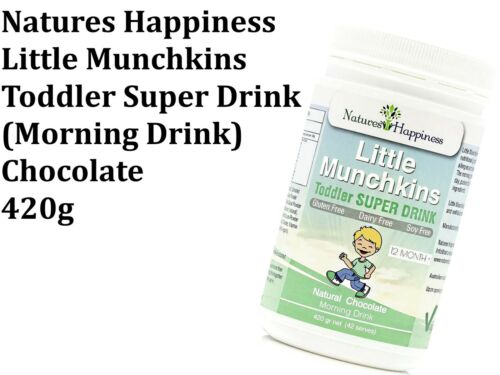 Natures Happiness Little Munchkins Toddler Super Milk Day Time Formula 420g