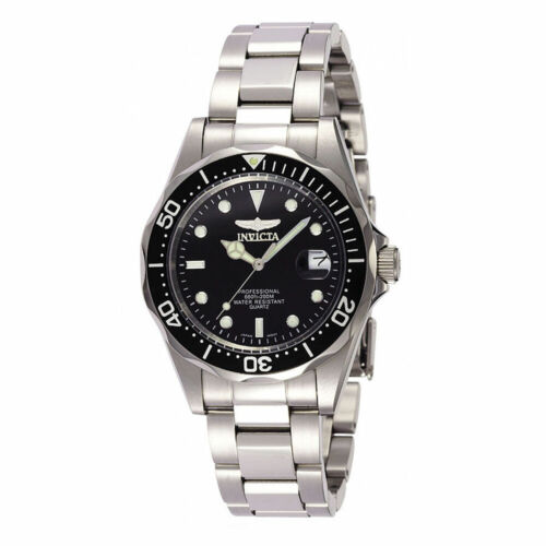Invicta 8932 Men's Pro Diver Quartz Black Dial Watch