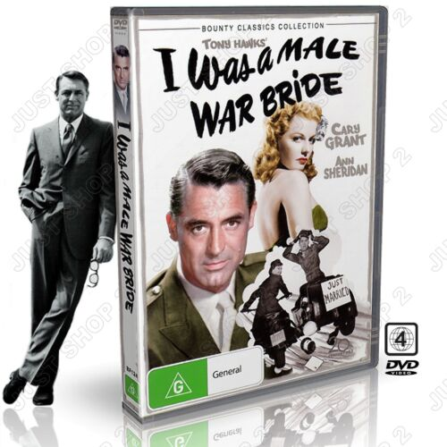 I Was A Male War Bride DVD : Movie / Film : Cary Grant : Brand New