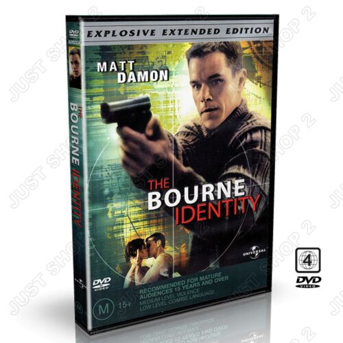 The Bourne Identity : Movie / Film Extended Edition : Brand New