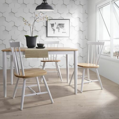 CLAUS Dining Table Solid Timber Furniture Natural Oak White - 1.5M 6 Seater  <br/> ⭐EXTRA 3% off⭐with code PLACE⭐Top Quality⭐