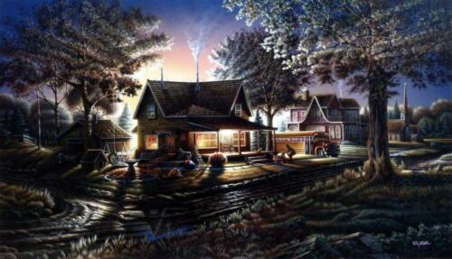 """Terry Redlin """"His First Day"""" Signed/Numbered Print 32 x 18.5"""