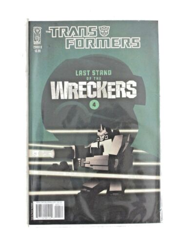 TRANSFORMERS 'WRECKERS' COVER B COMIC BY IDW PUBLISHER - EXCELLENT CONDITION