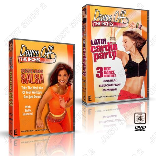 Dance Off The Inches Exercise DVD : Fun Cardio Workout : Brand New