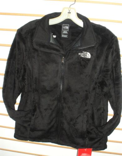 THE NORTH FACE WOMENS OSITO 2 FLEECE JACKET- S, M, L, XL  -BLACK - NEW