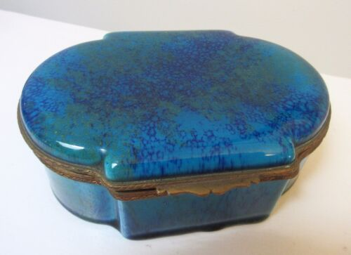 Paul Jean Milet French Porcelain Casket Dresser Box Early 20th Century Sevres