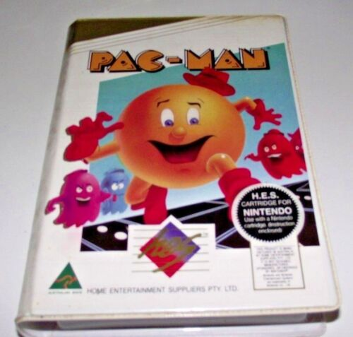 Pac Man Nintendo HES NES Boxed PAL *Complete* Piggy Back