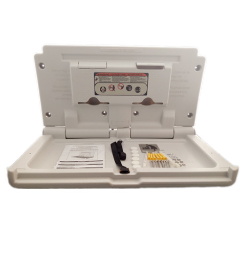 Baby Change Table Wall Mounted <br/> Baby Changing Station