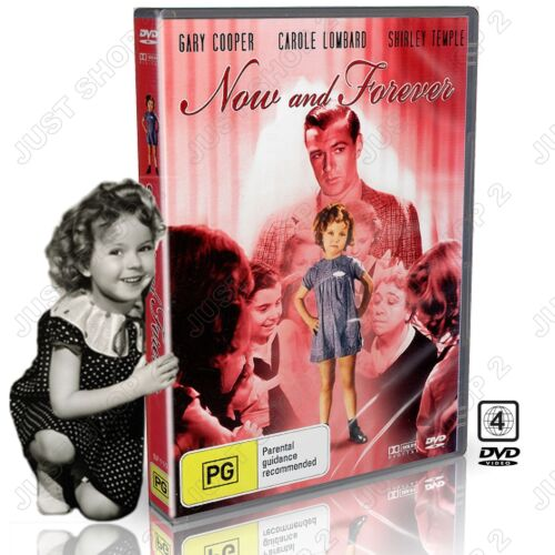 Now and Forever : Shirley Temple & Gary Cooper : New DVD