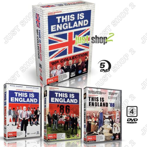 This Is England DVD : 80s Collection (5-Discs) : Brand New Box Set